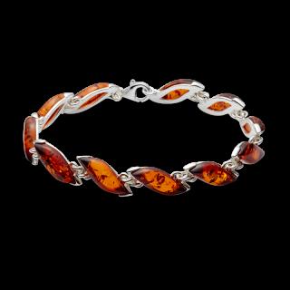 Classic Selection bracelet in cognac amber