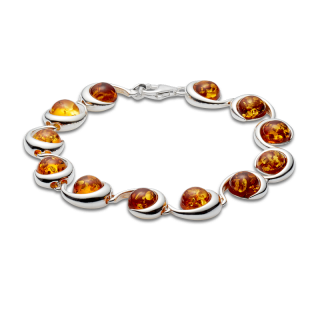 Classic Selection bracelet in cognac amber