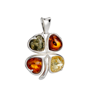 Classic Selection pendant in mixed amber colours
