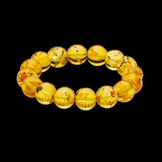 Pure Amber cognac bracelet (14mm)
