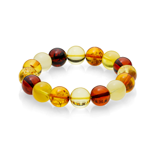 Pure Mixed Amber bracelet (10mm)