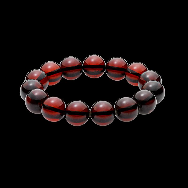 Pure Amber cherry bracelet (12mm)