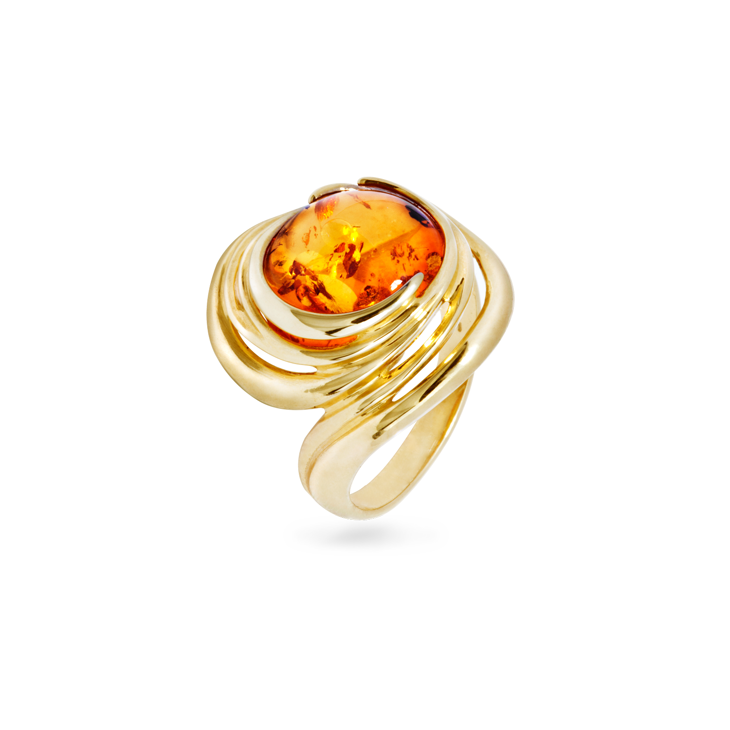 ring intense natural product amber rings engagement pink gia gold real yellow fancy